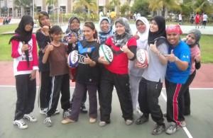 Latihan divisyen wanita Scorpion Putrajaya RC