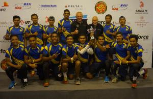 Scorpion Touch Putrajaya berjaya merangkul tempat kedua di 11th Shanghai International Touch Tournament 2014. Pasukan bergambar dengan Presiden FIT Mr. Erick ACKER.