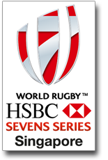 World Cup HSBC Sevens Series Singapore logo