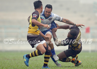 2015 Kejohanan Ragbi Piala Agong Ke-33 - Sabah vs Perak