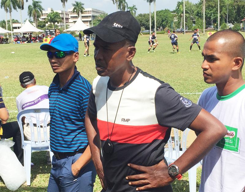 Sukandaily - 2016 Kejohanan Ragbi Piala Agong Ke-34 - Jurulatih PDRM - Yusli Ramli