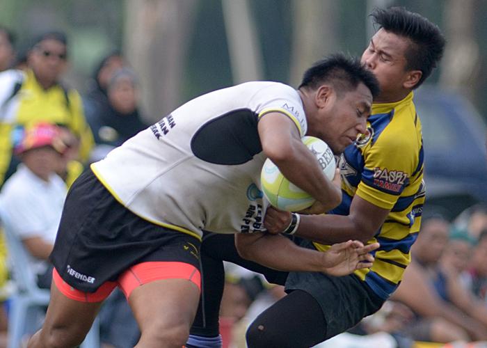 Sukandaily - 2016 Kejohanan Ragbi Piala Agong Ke-34 - Terengganu vs ATM