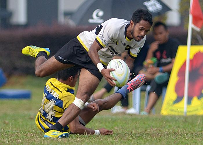 Sukandaily - 2016 Kejohanan Ragbi Piala Agong Ke-34 - Perlis vs Perak