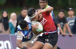 Sukandaily - Kejohanan Ragbi Asia U19 2016 - Malaysia vs Sri Lanka