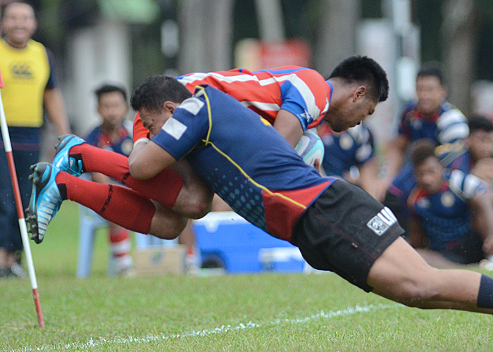 Sukandaily - Kejohanan Liga Ragbi Malaysia 2017 - UiTM Lions vs KSDBKL