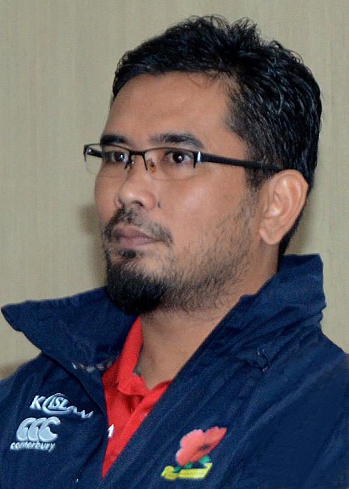 Sukandaily - Pengurus Besar Kesatuan Ragbi Malaysia - Mohd Mazuri Salehuddin