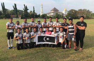 Pasukan ragbi Kolej Vokasional Wakaf Tembesu muncul juara di Kejohanan Vokasional Teknik (VOKTEK 7s) 2018 dengan 5 kejuaraan sejak penyertaan sekaligus muncul pasukan pemenang terbanyak sehingga kini. Kredit Foto – Zulkarnain Mohd Zawawi
