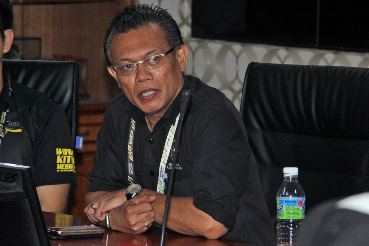 Timbalan Presiden Kesatuan Ragbi Perak; Encik Shamsul Munir Zaini. Kredit Foto - Sukandaily